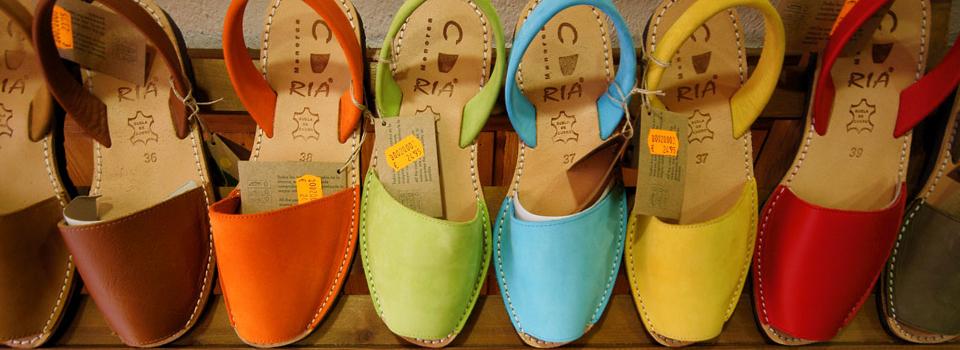 Sandały z Majorki