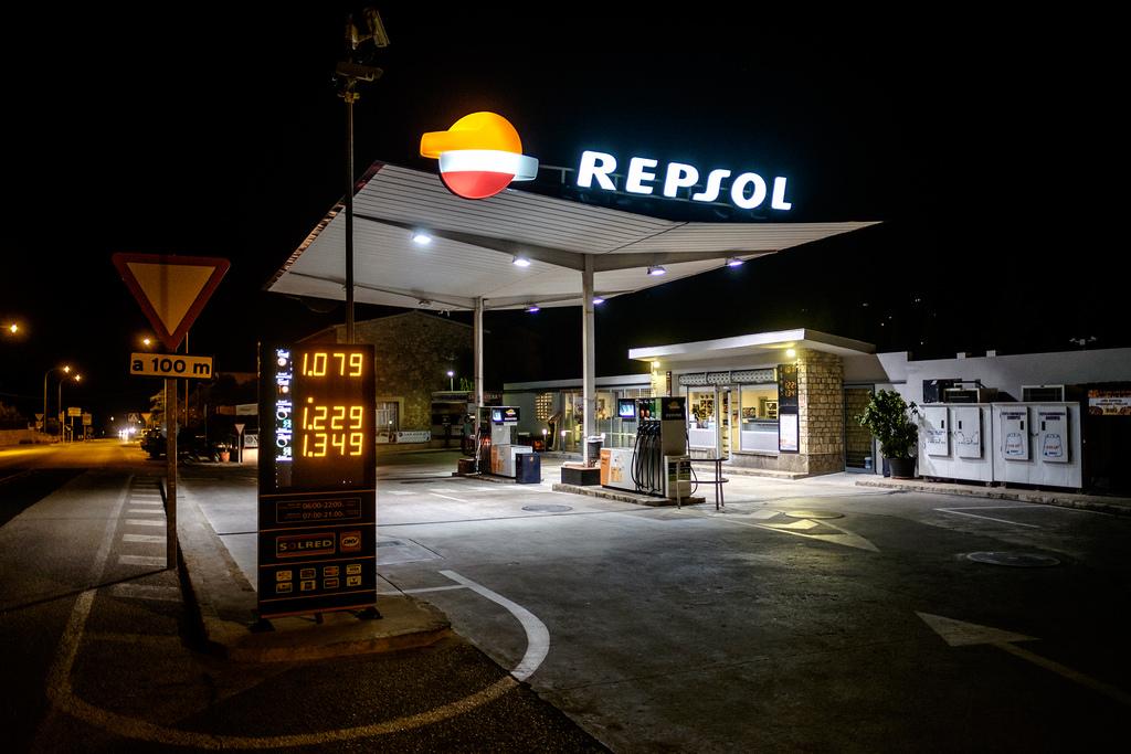 Ceny paliw na Majorce repsol