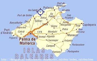 Mapa Sa Calobra