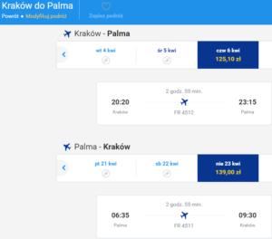 Kraków - Palma 2