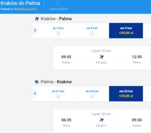 Kraków - Palma 3