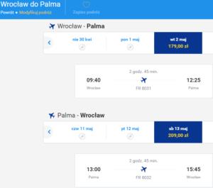 Wrocław - Palma 9