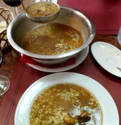 Arroz Brut – zupa prosto z Majorki