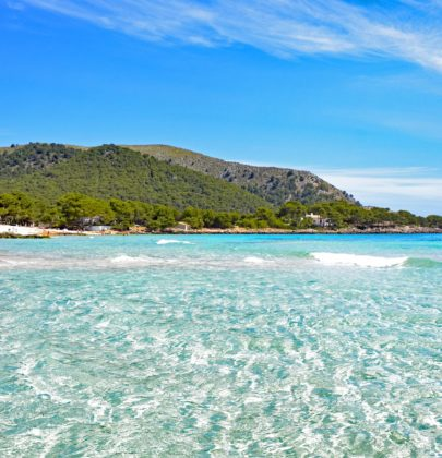 Cala Agulla – plaża odznaczona Błękitną Flagą