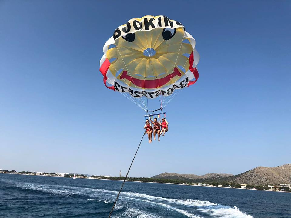parasailing na majorce