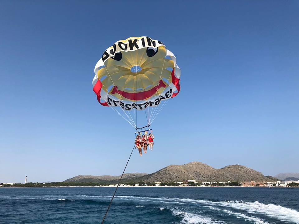 parasailing majorka
