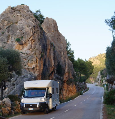 Kampery na Majorce