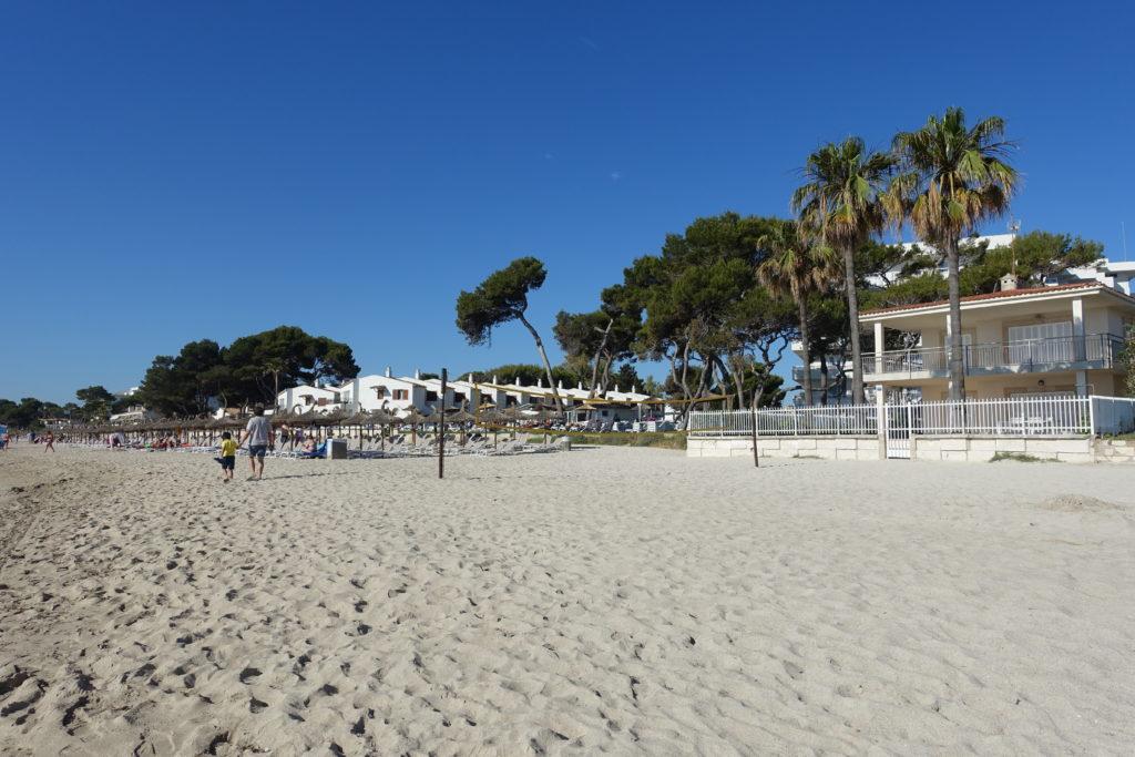 plaża dla dzieci na majorce