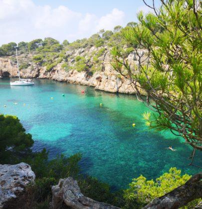 Cala Pi – otoczona sosnami plaża na południowym wybrzeżu Majorki