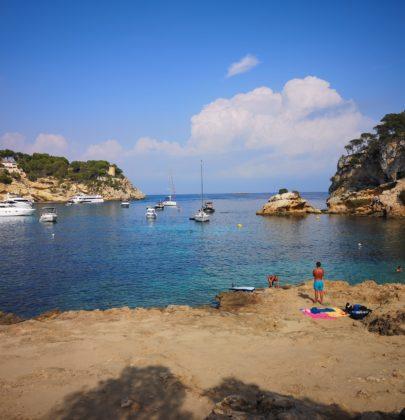 Portals Vells – cicha plaża na południu wyspy